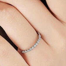 Women Fashion Platinum Plating Ring Thin Carved Pattern Finger Jewelry Utility