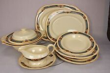 Woods Ivory Ware Tureen Dinner Side Plate Soup Dessert Bowl Replacement Platter