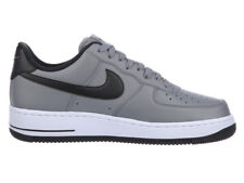NEW MENS NIKE AIR FORCE 1 LOW BASKETBALL SHOES TRAINERS COOL GREY / BLACK / WHI