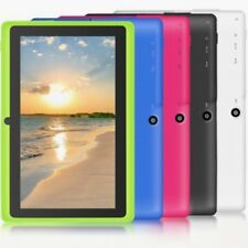 """7"""" Tablet PC Android4.4 A33 8GB Quad-core 1.2GHz WIFI Dual Camera Bluetooth #A"""