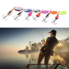 1x spinner Size 2-5# Spinner Bait Fishing Bass Baits Fish Lure Fishing Hook Pop.