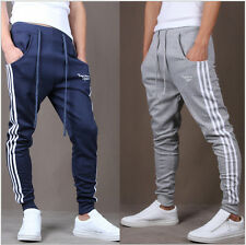 Hot Men Gym Sports Pants Trousers Hip Hop Jogging Joggers Sweatpants Jogger Pant