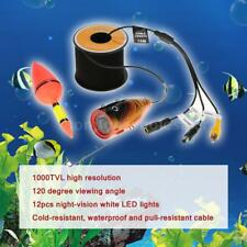 Underwater HD Fishing Video Camera 12PCS LED Fish Finder Detector 15m/30m M1L8