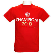 Manchester United 2013 English Premier League Champions youth t-shirt NWT MAN U
