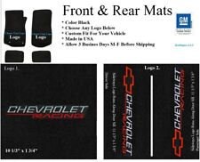 1978-2003 Malibu 4 pc Floor Mats Custom Fit with Choice of Front Logos