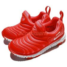 Nike Dynamo Free PS Bright Crimson Preschool Kids Shoes Sneakers 343738-624