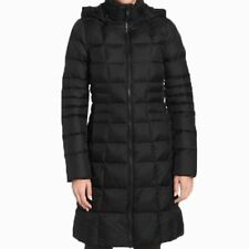 The North Face Metropolis Parka Women's TNF Goose Filled Jacket Black Sz M-L NWT