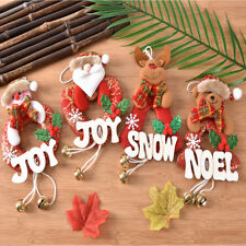 Xmas Gifts Christmas Tree Hanging Ornaments Santa Claus Pendants Decorations BDA