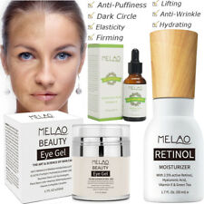 Retinol 2.5% Serum Cream Hyaluronic Acid Vitamin E Face Skin Anti Aging Wrinkles