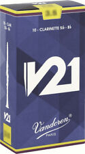 Bb Clarinet Reed / Bb Vandoren V21 all forces - box of 10 reeds