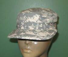 US Military Issue Army Combat Uniform ACU Camouflage Patrol Cap Hat All Sizes