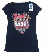 adidas NBA 4her New Orleans Style Basketball Scoop Neck Woman's Tee M-XL Defect