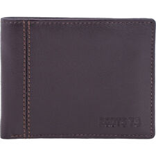 Roots 73 Leather Slimfold with Removable Flap 2 Colors Men's Wallet NEW