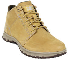 Caterpillar CAT Science Mid Mens Honey Suede Leather Lace Up Fashion Ankle Boots