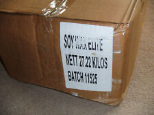 Soy wax elite for making your own candles 27 kilos in box