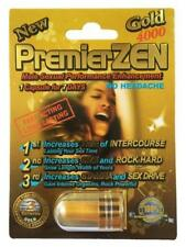 PremierZEN Gold 4000 Male Sexual Enhancement Pill Stamina Enhancer