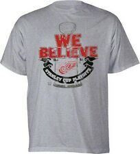 Detroit Red Wings Stanley Cup Playoffs t-shirt NWT Old Time Hockey NHL new