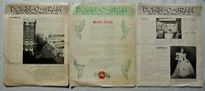 3 'Domino-Gram' The Box Maker Newsletters 1947 Old Dominion Box Co.