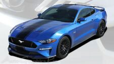 HYPER RALLY | 2018 Ford Mustang Center Graphics Decal Stripes 3M Wet Install