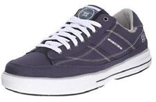 Men's SKECHERS ARCADE CHAT 51014 Navy Blue Canvas Casual Sneakers Shoes New
