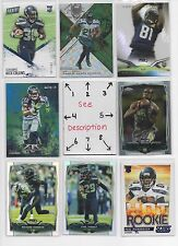 Seattle Seahawks #2 - Serial #'d ROOKIES - AUTOS - JERSEYS -  U-PICK -SEE LOT #1