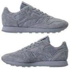 REEBOK CLASSIC LEATHER GUM WOMEN's CASUAL METEOR GREY - WHITE AUTHENTIC NEW SIZE