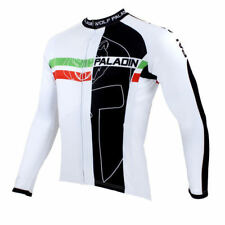 Men Sports Team Cycling Jersey Bicycle Long Sleeve Clothing Tops Wear O0062