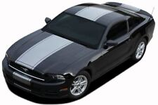 VENOM Center Stripes Pony  Style Hood Decals GT 3M Vinyl fits 2013 Ford Mustang