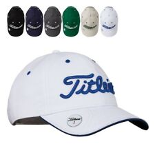 New Titleist Golf Ball Marker Adjustable Golf Hat U Pick Color Charcoal White