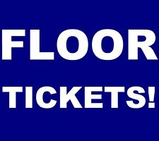 O.A.R. tickets Central Park Summerstage New York City NYC NY OAR 8/13 **FLOOR!**