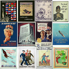 Large selection - High quality World War II Posters WW2 (boost moral)