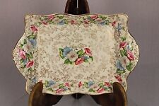MZ Austria James Kent Old Foley Trinket Sandwich Cake Trays Plates Shabby Chic