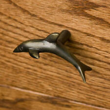 Signature Hardware Solid Brass Dolphin Cabinet Knob