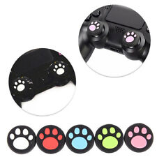 2PCS Silicone Cat Paw Joystick Thumb Stick Grip Cap For PS3 PS4 Xbox One HU