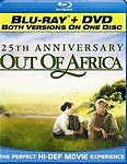 Out of Africa - 25th Anniversary (Blu-ray/DVD  New  free shipping