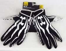 Black/White Under Armour F3 Skill position Football Gloves Md L XL NWT
