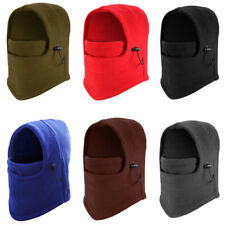Ski Full Mask Face Cover Winter Fleece Balaclava Hat Motorcycle Neck Hood Cap HU