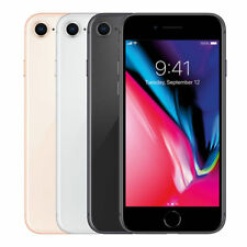 Apple iPhone 8 64GB Smartphone AT&T T-Mobile or Unlocked Space Gray Gold LTE