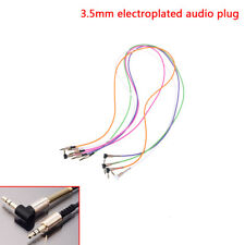 3.5mm jack cord stereo audio cable male to male 90degree right angle aux cable