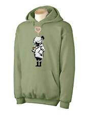 BANKSY THINK TANK HOODIE - Urban Art Blur T-Shirt - Choice Of Colours