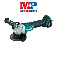 MAKITA DGA456Z 18 VOLT 115MM CORDLESS BRUSHLESS LITHIUM ION ANGLE GRINDER (BARE)