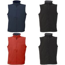 Regatta Mens Flux Softshell Bodywarmer / Sleeveless Jacket Water (RG1493)