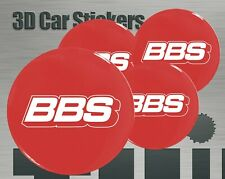 Wheel stickers BBS Center Cap Logo Badge Wheel Trims Rims Decal 3d Hub Caps New