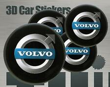 Wheel stickers Volvo Center Cap Logo Badge Wheel Trims Rims Decal 3d Hub Caps