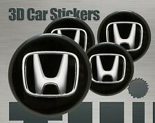 Wheel stickers Honda Center Cap Logo Badge Wheel Trims Rims Decal 3d Hub Caps