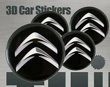 Wheel stickers Citroen Center Cap Logo Badge Wheel Trims Rims Decal 3d Hub Caps