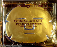 24K GOLD BIO COLLAGEN CRYSTAL FACE MASK ANTI AGEING / WRINKLE 60g - CE, FDA