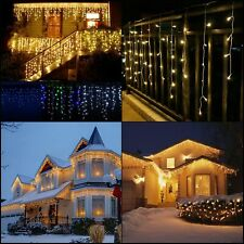 5m Indoor Outdoor Christmas Decoration Led String Lights Droop 0.3-0.5m Curtain
