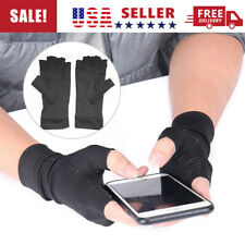 2PC-Arthritis Compression Copper Gloves Hand Support Joint Pain Relief Gloves