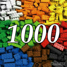 Lego 1000 Pieces Building Blocks City DIY Creative Bricks Bulk Model Toy Figures